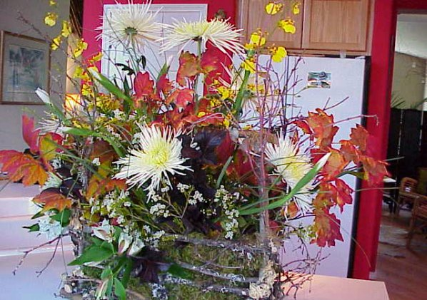 Fall Flowers - floral arrangement
