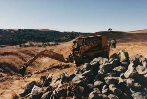 EBMUD gully