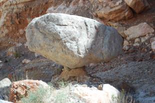 balance rock Saline Valley, California